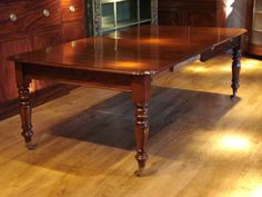 Image result for antique mahogany dining table in modern setting