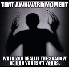 So scary when you do realise that xD
