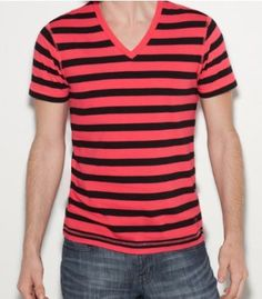 G by GUESS Fredrick V-Neck Shirt, SUMMER LOVE PINK (XXL) G by GUESS. $9.75