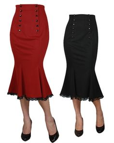 Rockabilly High waist skirt | xs - 4x | www.blueberryhillfashions.com