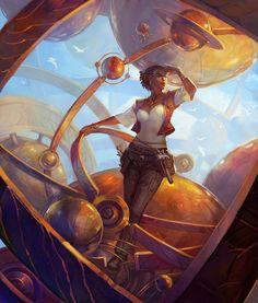 Fantasy illustrations by Julie Dillon | InspireFirst