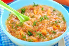 Tasty tomato and lentil soup Baby Weaning, Pregnancy Nutrition, Pregnancy Advice, Lentil Soup, Lentils, Thai Red Curry, Tasty, Ethnic Recipes, Monat