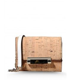 Diane von Furstenberg Micro Mini Cork Bag - Vacation styles to put you one umbrella-adorned drink away from beachside chic. http://shop.harpersbazaar.com/trends/paradise-found