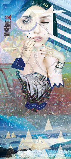 LA MACHINE DU MOULIN ROUGE 2012/2013 // by gosia stolinska, via Behance