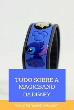 Pulseira MagicBand da Disney