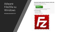 Adware FileZilla su Windows, l'installer di FileZilla, il più celebre tra i client FTP #TecnologiaPerTutti #VivereNelFuturo #personalcomputer #windows Windows, Software, Tecnologia, Ramen, Window