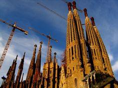 Barcelona, Sagrada Familia. Baustelle im Juni 2006. www.spiegel-online.de