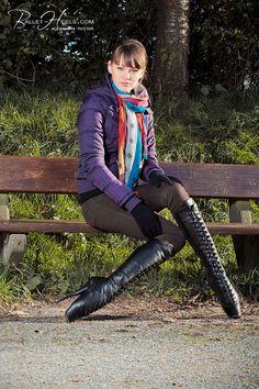So Beautiful and The Ultimate In Feminine Footwear! Extreme High Heels, Hot High Heels, Sexy Heels, Alexandra Potter, Ballet Boots, Ballet Heels, Thigh High Boots, High Heel Boots, Heeled Boots