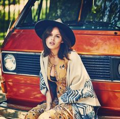 ╰☆╮Boho chic bohemian boho style hippy hippie chic bohème vibe gypsy fashion indie folk the . Gypsy Style, Boho Gypsy, Bohemian Style, My Style, Boho Chic, Hippie Chic, Casual Chic, News Fashion, Indie Fashion