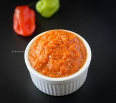 Learn how to make 2 types of the best Caribbean Pepper Sauce that's a staple in the most Caribbean kitchens. Guyanese Pepper Sauce Recipe, Caribbean Pepper Sauce Recipe, Jamaican Hot Sauce Recipe, Spicy Sauce, Indian Food Recipes, Gourmet Recipes, Cooking Recipes, Healthy Recipes, Indian Foods