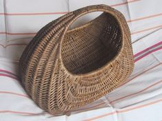 VINTAGE Gondola Shopping Basket 1960 s. Used by the Girls after cookery class. Nostalgia, Thing 1, My Childhood Memories, 1960s Fashion, My Memory, The Good Old Days, Retro, A Boutique, Old School