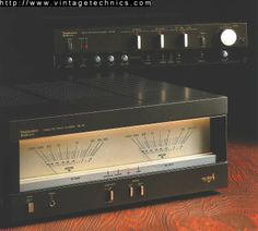 SU-A6 Stereo DC Control Amplifier   SE-A5  Stereo Power Amp