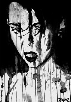 "Saatchi Art Artist Loui Jover; Drawing, ""crave"" #art"
