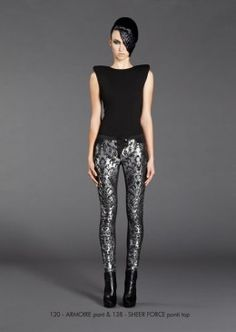House of Zhivago - ARMOIRE PANT & SHEER FORCE PONTI TOP