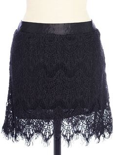 $58.00 Lovelorn Lace Mini Skirt | PLASTICLAND  http://www.shopplasticland.com/store/merchant.mvc?Screen=PROD_Code=P21018701_Code=Clothing