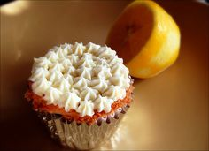 4 ounces (1/2 a package) reduced fat cream cheese, softened  1/2 cup confectioners' sugar  1 tablespoon fresh lemon juice  1/2 teaspoon finely grated lemon zest