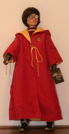 "Harry Potter 17"" Gryffinder Seeker Goblet of Fire Robert Tonner doll"