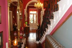 Entrance and Hallway - The Villas Residence Boutique Hotel and 5 Star Guest Accommodation Rochdale