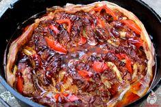 Schichtfleisch aus dem Dutch Oven - das optimale BBQ-Rezept für DO-Einsteiger: einfach, schnell und lecker!