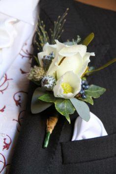 Exquisite White Christmas Wedding at Hoghton Tower for Pamela