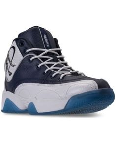 AND1 Men's Coney Island Classic Basketball Sneakers from Finish Line - White 10.5