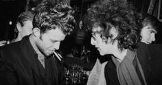 Tom Waits & Bob Dylan- so hard to find a photo of them together. <3
