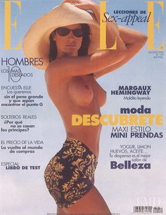 Covers of Elle Spain with Marpessa Hennink, 958 1996   Magazines   The FMD #lovefmd