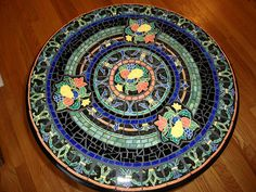 Fiesta Mosaic Table top | Flickr - Photo Sharing!