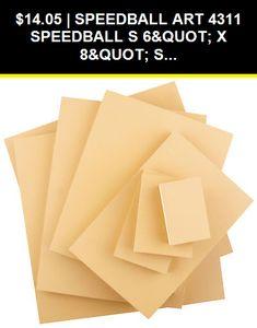 Speedball SPD-4365 Red Baron Unmounted Lino Block 4 x 6