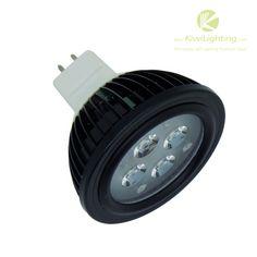 Cree 4*1w MR16 LED Lights - white/warm white/blue 488lm - Kiwi Lighting - MR16 LED Lights, 4 watt, 4x Cree LEDs, white, warm white, blue, upto 488lm, MR16 bulb,  input DC 12v,      + $13.99