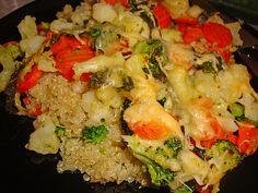 Chefkoch.de Rezept: Quinoa - Gemüse - Auflauf