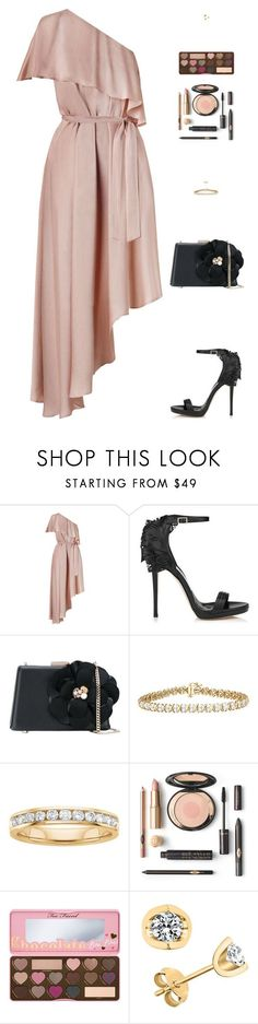 """""""Sin título #4873"""" by mdmsb on Polyvore featuring moda, Zimmermann, Jimmy Choo, Lanvin y Too Faced Cosmetics"""