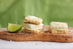 First up, Douglas Sweets. Toasted Coconut, Shortbread Cookies, Biscuits, Lime, Sweets, Spotlight, Paradise, Gifts, Gift Ideas