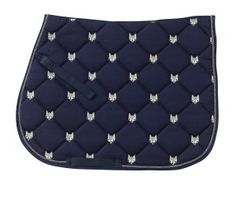 Fox All Purpose Pad available at HorseLoverZ, the #1 place for horse products and equipment. Fun and fashionable embroidered quilted saddle pads in great colors.