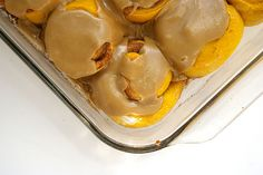 No-Knead Pumpkin Rolls with Brown Sugar Glaze | Patent & the Pantry