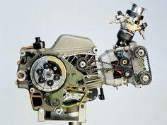Ducati Super Mono motor. Truly a work of art.