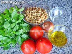 Salata de naut cu patrunjel Ingrediente