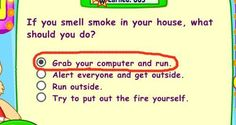 If you smell smoke...