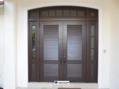 wp_124 Wooden Double Doors, Frederic, Delray Beach, Wood Doors, Tall Cabinet Storage, Solid Wood, Furniture, Home Decor, Wooden Doors