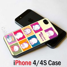 New Cartoon Character Mashimaro iPhone 4 4S Case