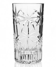 Look what I found on #zulily! Palm Tree Highball Glass - Set of Four #zulilyfinds