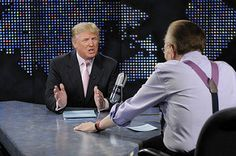 LARRY KING AND DONALD TRUMP | by LeStudio1- 2016