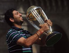 The player of the tournament - Yuvraj Singh