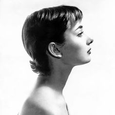 Audrey Hepburn photographed at her London home for the Sunday Pictorial, May…