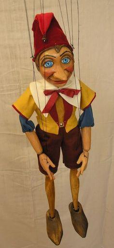 A vintage Marionette