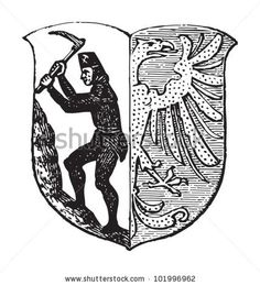 Bytom coat of arms variation.
