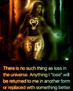 There is no such thing as lost.