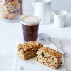 """Few things spell """"comfort"""" quite like a cup of coffee and a rusk. Diabetic Recipes, Cooking Recipes, Diabetic Sweets, Sugar Free Biscuits, Buttermilk Rusks, Rusk Recipe, Muesli Recipe, Sugar Free Baking, Healthy Sugar"""