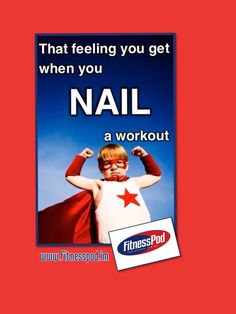 Nail a workout today at www.fitnesspod.im!