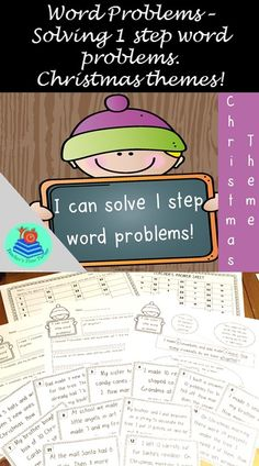 Includes 1 explanation sheet, 6 worksheets and 40 task cards!